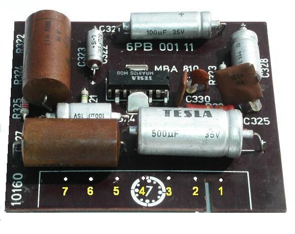 jak se zapojit kondenzátor na zesilovač